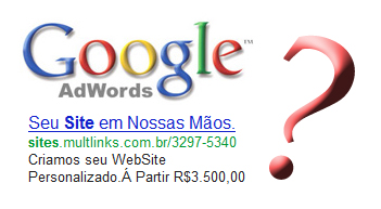Links Patrocinados Campanhas Adwords